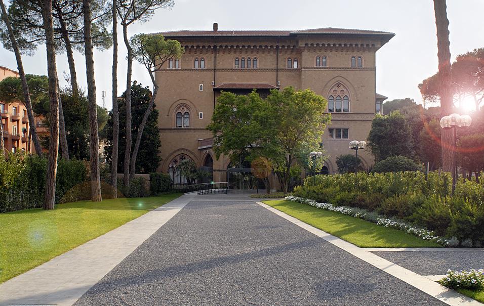 Villa Grazioli // Proger