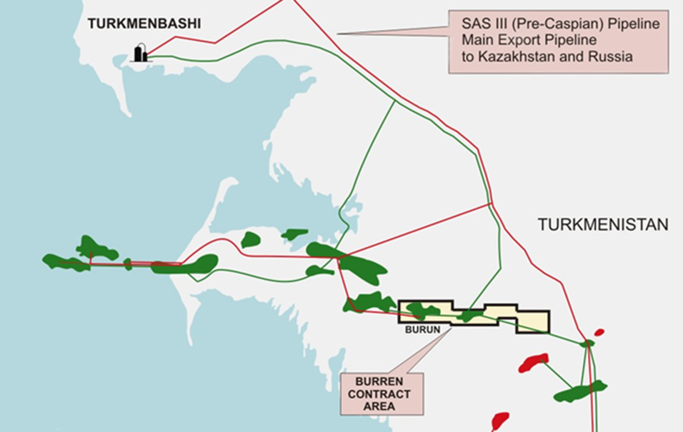 Burun Oil Field Development // Proger