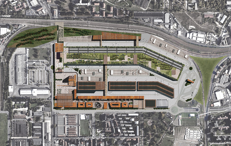 New wholesale market in milan proger for Service design milano
